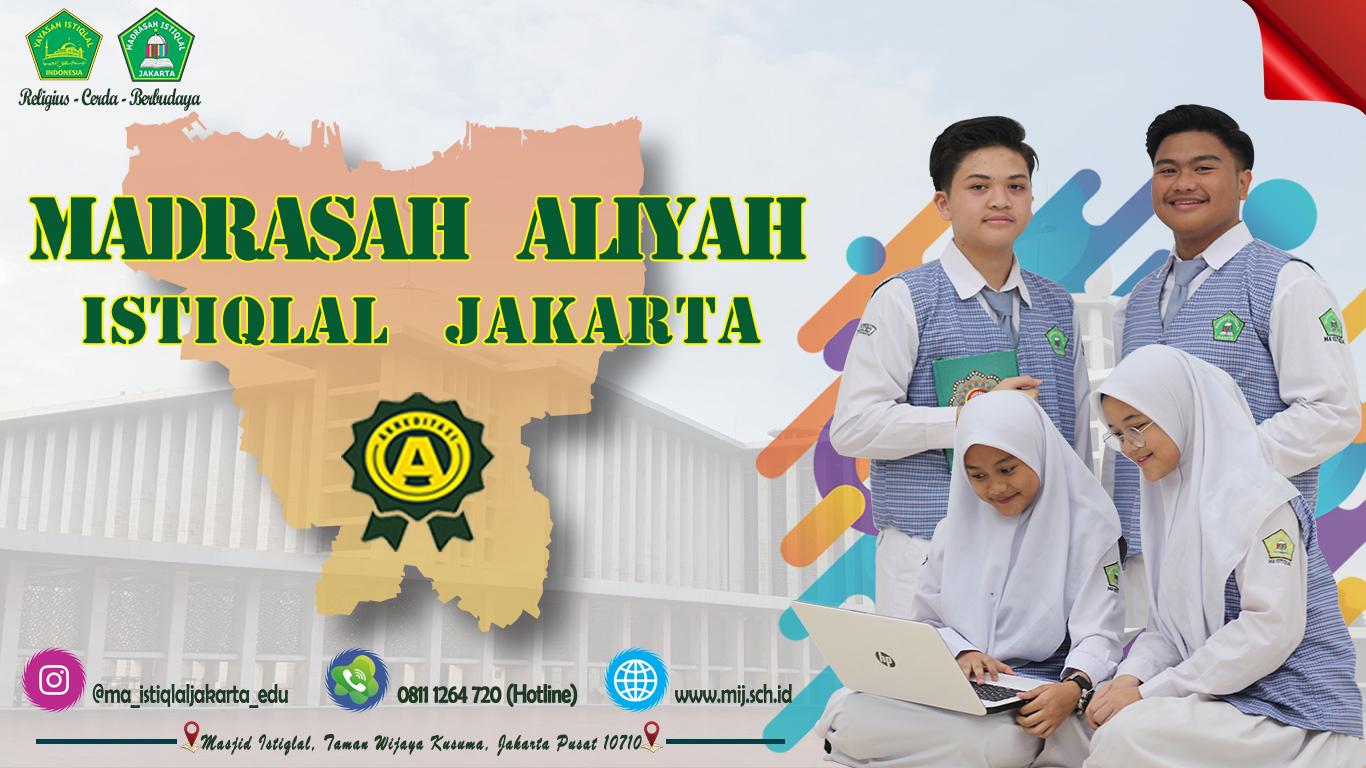 Banner Madrasah Aliyah Istiqlal Jakarta 1