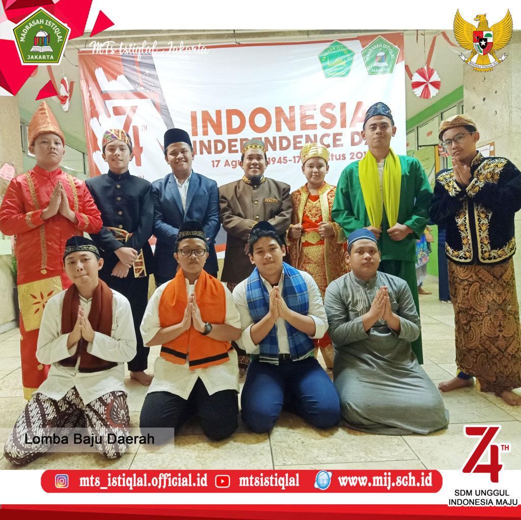 Lomba HUT RI - Madrasah Tsanawiyah Istiqlal Jakarta 1