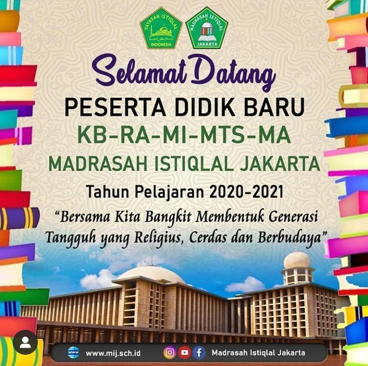 peserta didik baru madrasah istiqlal jakarta
