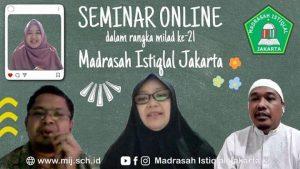 seminar online madrasah istiqlal jakarta