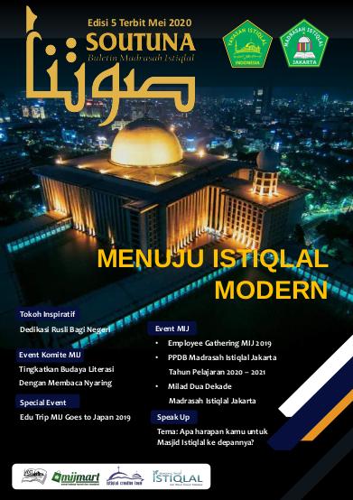 Menuju Istiqlal Modern