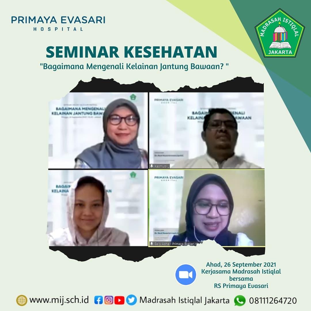 Seminar Kesehatan Madrasah Istiqlal jakarta