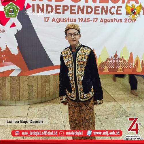 Lomba HUT RI - Madrasah Tsanawiyah Istiqlal Jakarta 15
