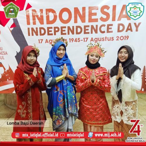 Lomba HUT RI - Madrasah Tsanawiyah Istiqlal Jakarta 16