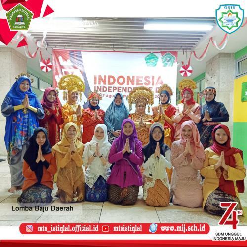Lomba HUT RI - Madrasah Tsanawiyah Istiqlal Jakarta 17