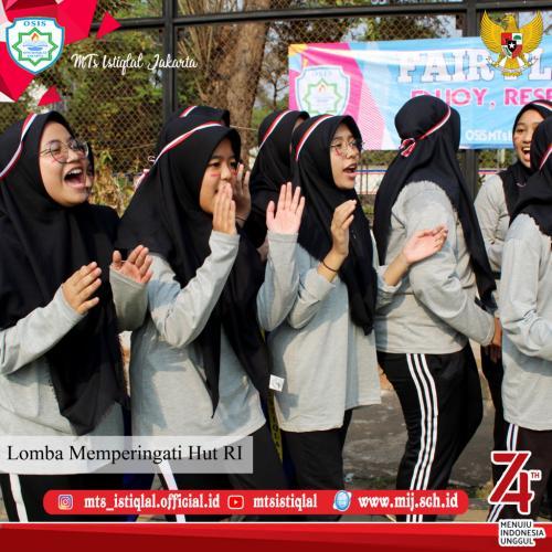 Lomba HUT RI - Madrasah Tsanawiyah Istiqlal Jakarta 18