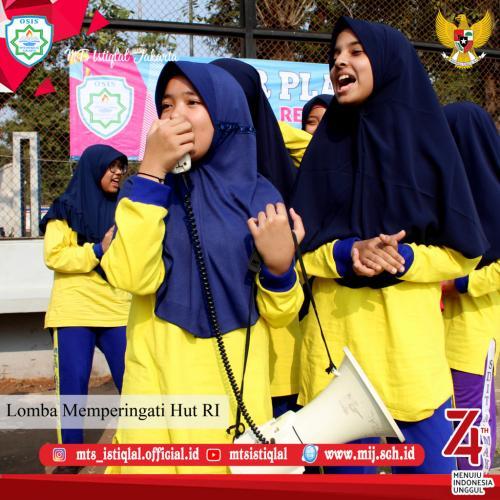 Lomba HUT RI - Madrasah Tsanawiyah Istiqlal Jakarta 19