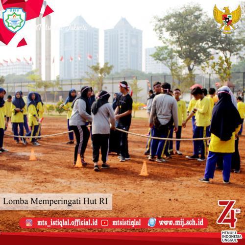 Lomba HUT RI - Madrasah Tsanawiyah Istiqlal Jakarta 21
