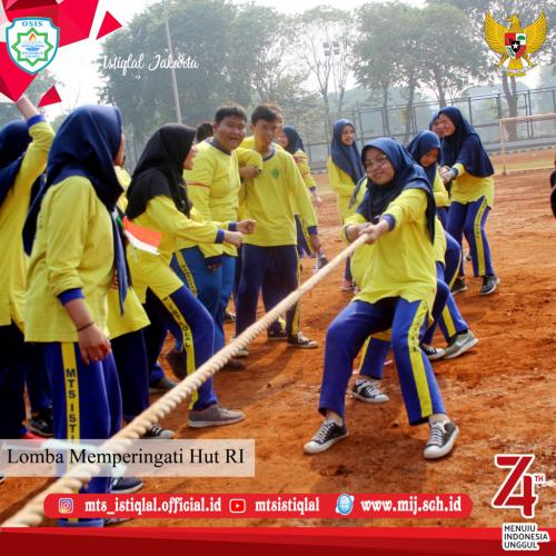 Lomba HUT RI - Madrasah Tsanawiyah Istiqlal Jakarta 22