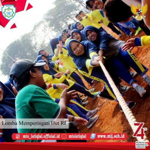 Lomba HUT RI - Madrasah Tsanawiyah Istiqlal Jakarta 23