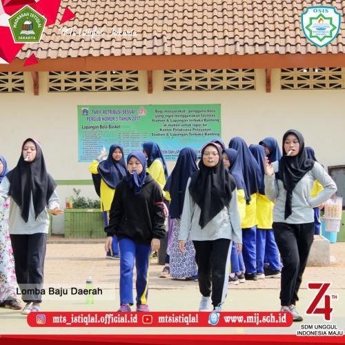 Lomba HUT RI - Madrasah Tsanawiyah Istiqlal Jakarta 26