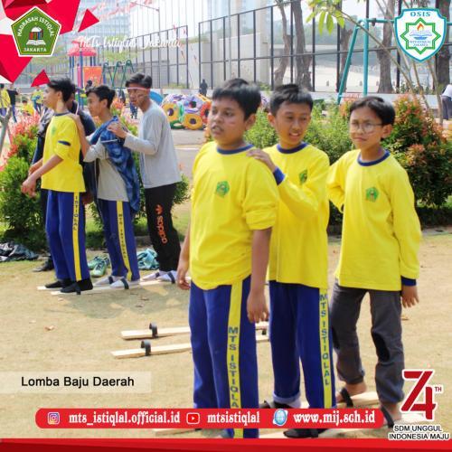 Lomba HUT RI - Madrasah Tsanawiyah Istiqlal Jakarta 27