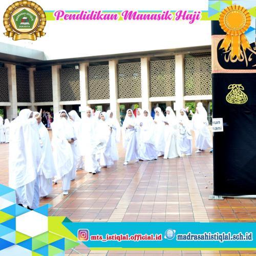 Manasik Haji - Madrasah Tsanawiyah Istiqlal Jakarta 10