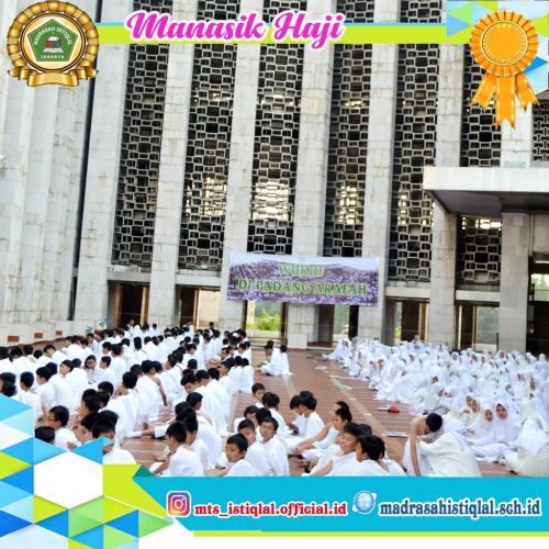 Manasik Haji - Madrasah Tsanawiyah Istiqlal Jakarta 4