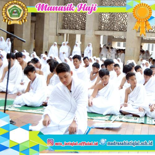 Manasik Haji - Madrasah Tsanawiyah Istiqlal Jakarta 5