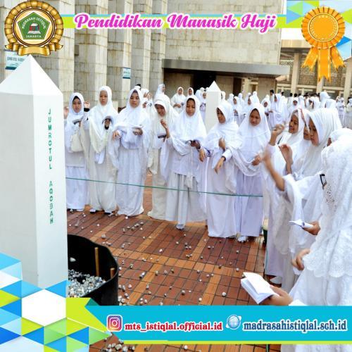 Manasik Haji - Madrasah Tsanawiyah Istiqlal Jakarta 7