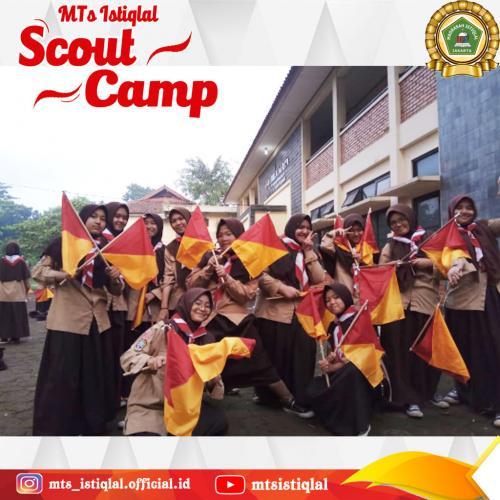 Scout Camp - Madrasah Tsanawiyah Istiqlal Jakarta 1