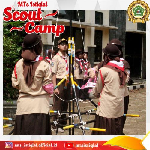 Scout Camp - Madrasah Tsanawiyah Istiqlal Jakarta 3