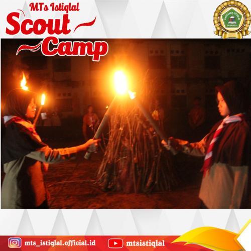 Scout Camp - Madrasah Tsanawiyah Istiqlal Jakarta 4