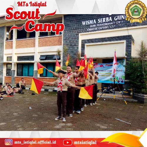 Scout Camp - Madrasah Tsanawiyah Istiqlal Jakarta 6