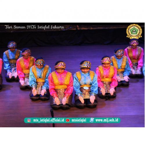 Tari Saman- Madrasah Tsanawiyah Istiqlal Jakarta 1