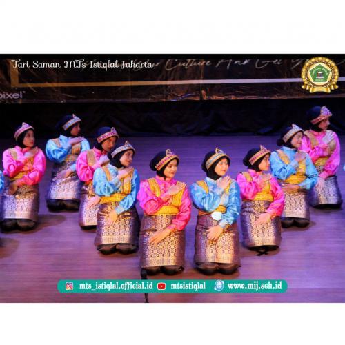 Tari Saman- Madrasah Tsanawiyah Istiqlal Jakarta 2