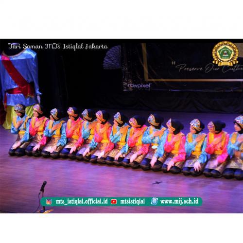 Tari Saman- Madrasah Tsanawiyah Istiqlal Jakarta 3