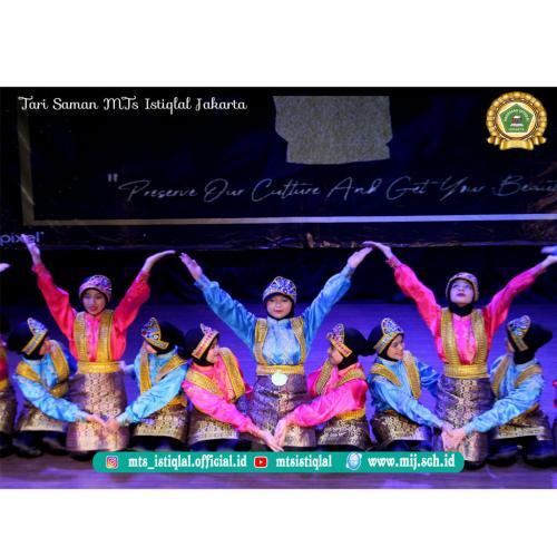 Tari Saman- Madrasah Tsanawiyah Istiqlal Jakarta 4